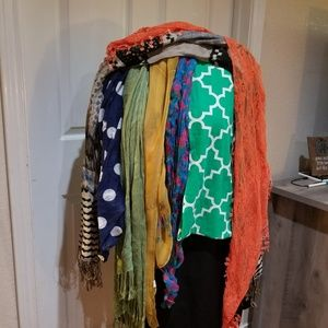 Accessories - Various scarves